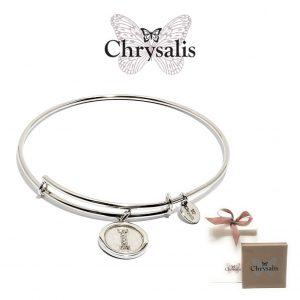 Pulseira Chrysalis® Letter I | Silver | Tamanho Adaptável | Com Caixa ou Saco Oferta