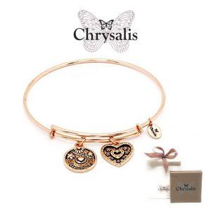 Bracelet grand-mère Chrysalis® | Or Rose | Taille adaptative