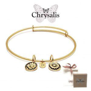 Pulseira Chrysalis® Believe | Gold | Tamanho Adaptável | Com Caixa ou Saco Oferta