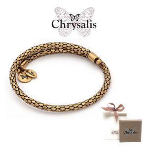 Pulseira Chrysalis® Trust | Gold | Tamanho Adaptável | Com Caixa ou Saco Oferta