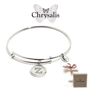Chrysalis® Letter Z Bracelet | Silver | Adaptive Size | With Box or Bag Offer