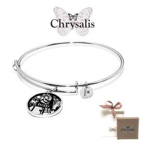 Pulseira Chrysalis® Snowman | Silver | Tamanho Adaptável | Com Caixa ou Saco Oferta