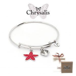 Pulseira Chrysalis® Seastar | Silver | Tamanho Adaptável | Com Caixa ou Saco Oferta