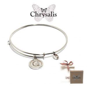 Pulseira Chrysalis® Letter G | Silver | Tamanho Adaptável | Com Caixa ou Saco Oferta