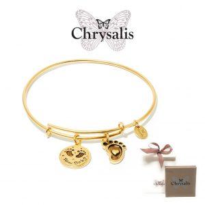 Pulseira Chrysalis® New Baby | Gold | Tamanho Adaptável | Com Caixa ou Saco Oferta