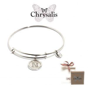 Pulseira Chrysalis® Letter N | Silver | Tamanho Adaptável | Com Caixa ou Saco Oferta