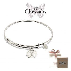 Pulseira Chrysalis® Letter Y | Silver | Tamanho Adaptável | Com Caixa ou Saco Oferta
