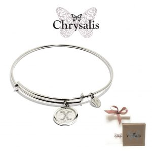 Chrysalis® Letter X Bracelet | Silver | Adaptive Size | With Box or Bag Offer