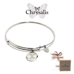 Pulseira Chrysalis® Letter X | Silver | Tamanho Adaptável | Com Caixa ou Saco Oferta