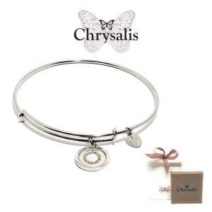 Pulseira Chrysalis® Letter O | Silver | Tamanho Adaptável | Com Caixa ou Saco Oferta