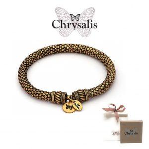 Pulseira Chrysalis® Inspiration |  Gold | Tamanho Adaptável | Com Caixa ou Saco Oferta
