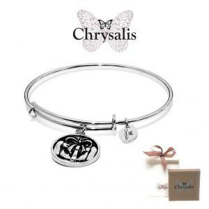 Pulseira Chrysalis® Present | Silver | Tamanho Adaptável | Com Caixa ou Saco Oferta