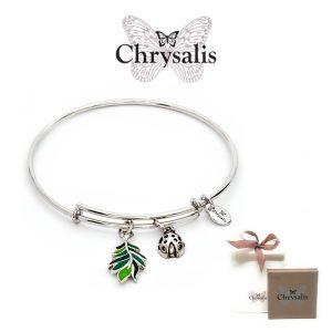 Pulseira Chrysalis® Farn | Silver | Tamanho Adaptável | Com Caixa ou Saco Oferta