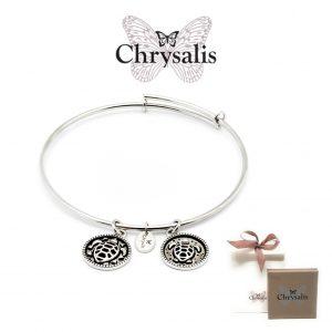 Pulseira Chrysalis® Serenity | Silver | Tamanho Adaptável | Com Caixa ou Saco Oferta
