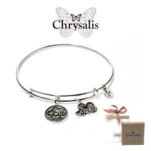 Pulseira Chrysalis® Aunt | Silver | Tamanho Adaptável | Com Caixa ou Saco Oferta
