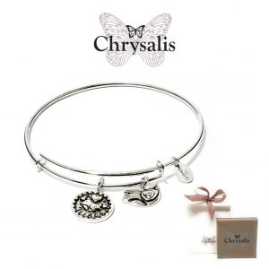 Chrysalis® Niece Bracelet | Silver | Adaptive Size | With Box or Bag Offer