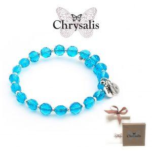 Chrysalis® Gaia Bracelet | Rainbow Aqua | Adaptive Size | With Box or Bag Offer