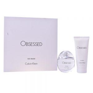 Conjunto de Perfume Mulher Obsessed Calvin Klein (2 pcs)
