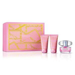 Conjunto de Perfume Mulher Bright Crystal Versace (3 pcs)