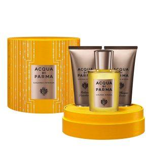 Conjunto de Perfume Homem Colonia Intensa Acqua Di Parma (3 pcs)