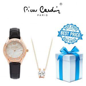 Conjunto Pierre Cardin® PCX6556L290 | Relógio | Colar