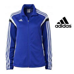 Adidas® Casaco de Treino Performance Women Blue | Tecnologia Climacool®