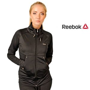 Reebok® Casaco Core Track Top Black