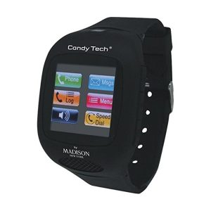 Phone-Watch Madison Candy Tech | Cartão SIM ou Micro SIM | Bluetooth | Micro SD | MP3 e MP4