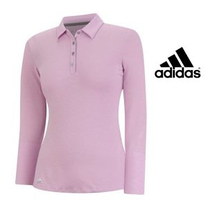Adidas® Camisola Climalite Essentials Golf Pink