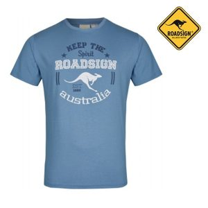 T-Shirt Australian Fashion Blue | Tamanho M