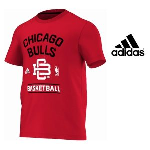 Adidas® T-Shirt Wshd NBA Chicago Bulls Wshd