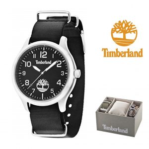 Relógio Timberland® Redington Black | 3ATM | Bracelete Extra + Porta Chaves!