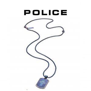 Colar Police® PJ25607PSEBL-CROSS