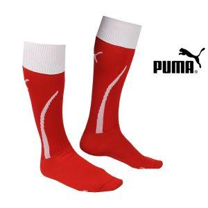 Puma® PACK de 3 Meias de Desporto Vermelhas Com Branco