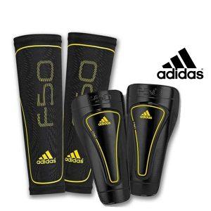 Adidas® Caneleiras F50 Pro Lite Com Meias de Compressão