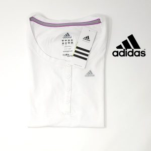 Adidas® T-Shirt Essentials White | Tecnologia Climalite® Cotton