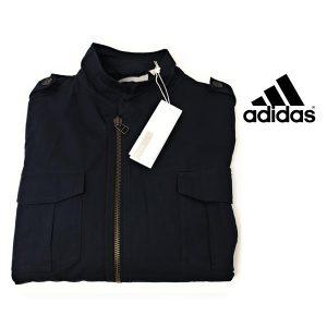 Adidas® Casaco Field Slvr Navy | 100% Algodão