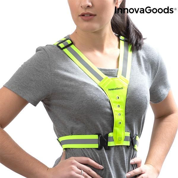 7eca8d25ef InnovaGoods Gadget Tech LED reflective running vest - You Like It