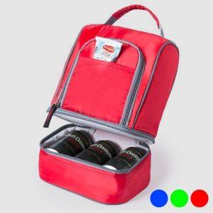 Saco Térmico com Compartimentos | Disponível em 4 Cores!