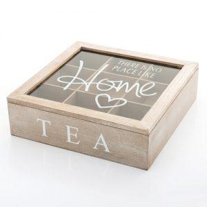 Caixa de Bambú Para Chá e Outras Infusões