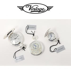 Conjunto 3 Relógios de Bolso | Nature Time Vintage