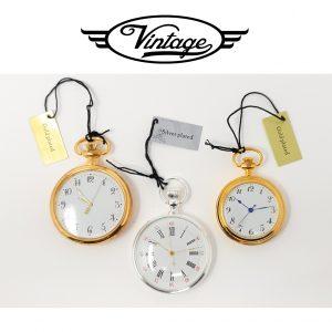 Conjunto 3 Relógios de Bolso | Time Square Vintage