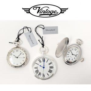 Conjunto 3 Relógios de Bolso | Big Ben Vintage