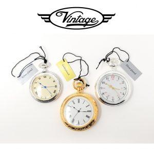 Conjunto 3 Relógios de Bolso | Timeline Vintage