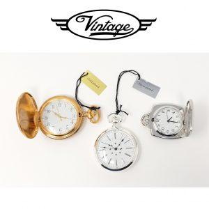 Conjunto 3 Relógios de Bolso | Infinity Time Vintage