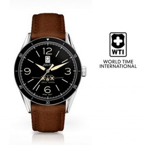 Relógio World Time Inernational Douglas