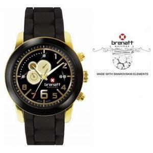 Relógio Brenatt® Topaz | Made With Swarovski Elements