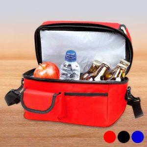 Saco Térmico com Compartimentos | Disponível em 3 Cores!