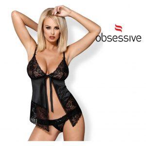Obsessive Babydoll D-218027   Tamanhos S/M e L/XL