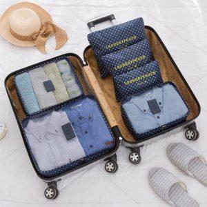 Conjunto 6 Bolsas Organizadoras Para Viagem | KS21WZ3